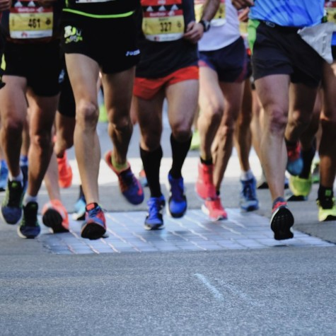 Road races are a popular activity across the globe.